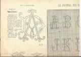 アンティーク刺繍図案-a