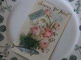 アンティークポストカード「Poisson d'Avril」 1904年4月1日