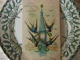 アンティークポストカード ツバメx1906