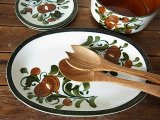 ベルギーBOCH Argenteuil オーバル大皿