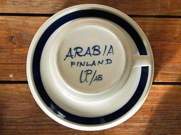 画像3: ARABIA 大きめカップ&ソーサー 『Anemone』