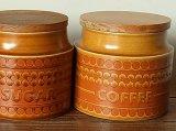 イギリス HORNSEA SAFFRON キャニスター 「COFFEE」