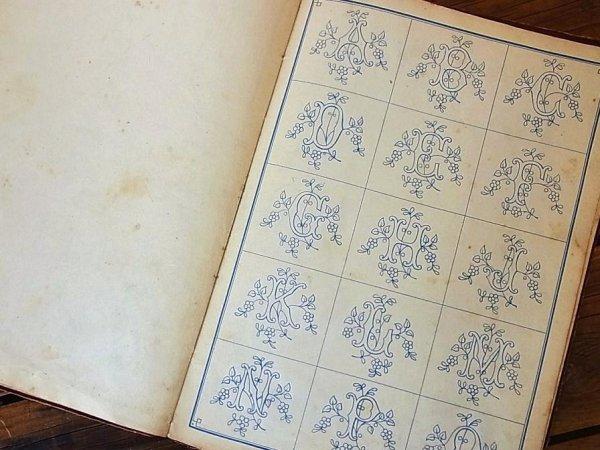 画像5: アンティーク刺繍図案『Nouvel Album d' Alphabets varies pour Broderies』