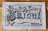 アンティークSajou クロスステッチ刺繍図案『Album au Point de Marque Sajou No.364』