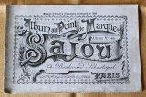 アンティークSajou クロスステッチ刺繍図案『Album au Point de Marque Sajou No.365』