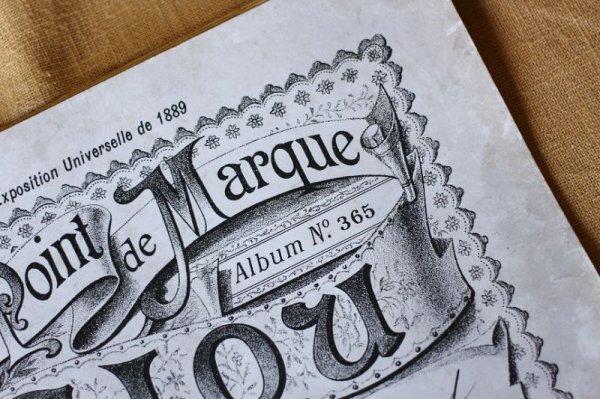 画像2: アンティークSajou クロスステッチ刺繍図案『Album au Point de Marque Sajou No.365』