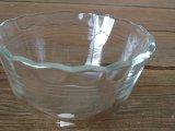 PYREXガラス小皿 スカラップカット