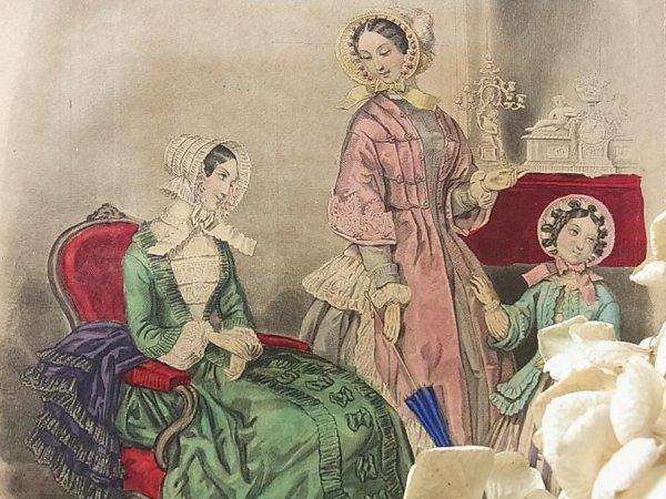 画像1: MODES FRANCAISES 1850年3月