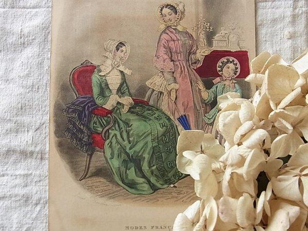 画像2: MODES FRANCAISES 1850年3月