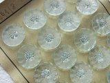 アンティークガラスボタンシート 曇りガラス
