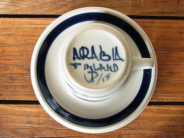画像2: ARABIA デミタスカップ&ソーサー 『Anemone』
