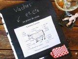 クロスステッチ図案集『Vache et cie』