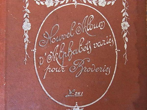 画像2: アンティーク刺繍図案『Nouvel Album d' Alphabets varies pour Broderies』