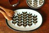 ベルギーBOCH Rambouillet オーバル大皿
