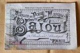アンティークSajou クロスステッチ刺繍図案『Album au Point de Marque Sajou No.362』
